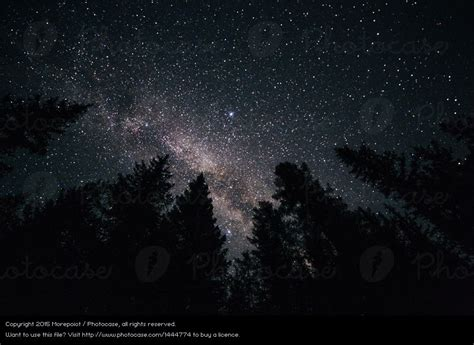 Night Sky Nature Beautiful Royalty Free Stock Photo