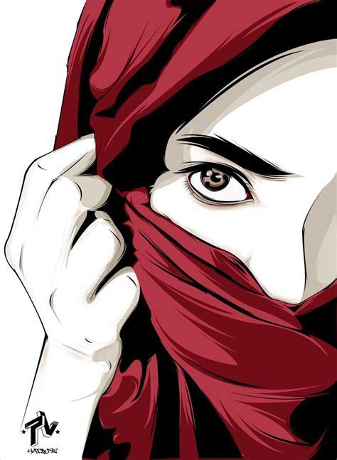 images  hijab drawing  pinterest