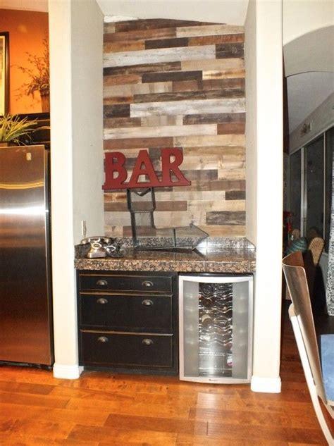 diy pallet wall   home bar diy home improvement