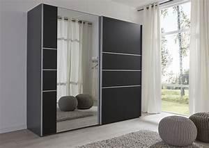 Kleiderschrank Breite 200 Cm : schwebet renschrank kleiderschrank schwarz spiegel ~ Bigdaddyawards.com Haus und Dekorationen