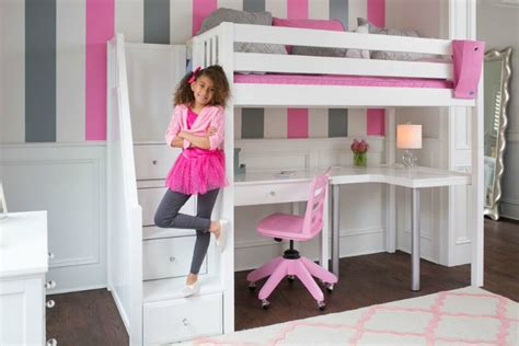 childrens loft bed with desk back to school ready with study loft beds with desk