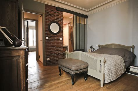 chambre style vintage style industriel rétro