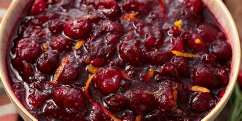 homemade cranberry sauce recipe    fresh