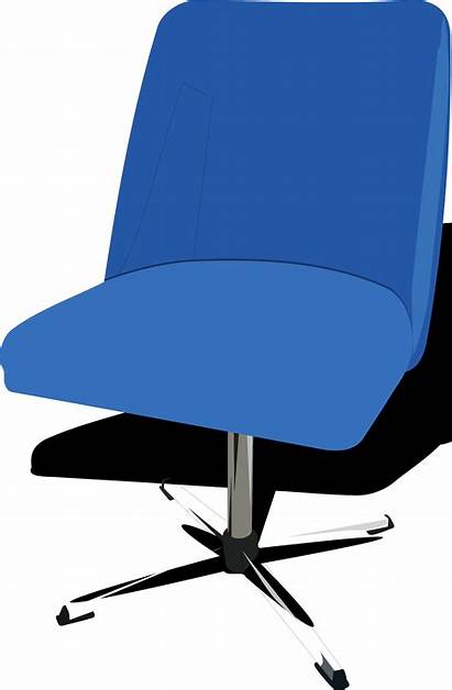 Seat Office Clip Chairs Chair Clipart Cliparts
