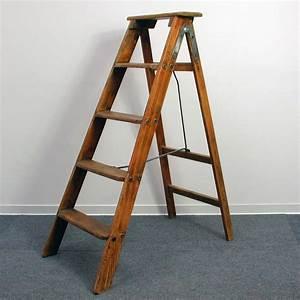 Vintage, Wooden, Ladder