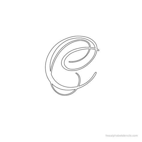 Calligraphy Alphabet Stencils Freealphabetstencilscom
