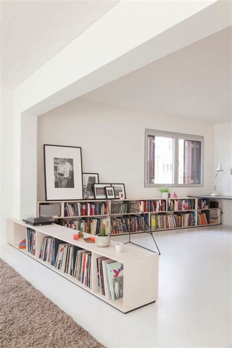 Low Narrow Bookshelf by Best 25 Low Shelves Ideas On Minimalist