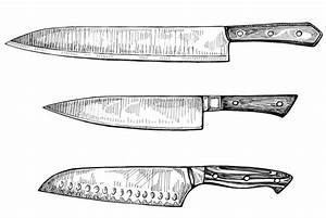 Angolosfilm: Chef Knives Drawing Images
