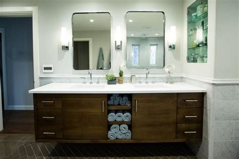 19  Bathroom Cabinet Designs, Decorating Ideas, Models