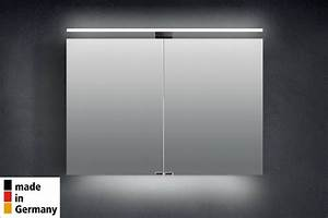Spiegelschrank 100 Cm Bad LED Beleuchtung Badezimmer