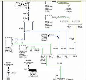 1991 Dodge D250 Cummins Alternator Wiring Diagram