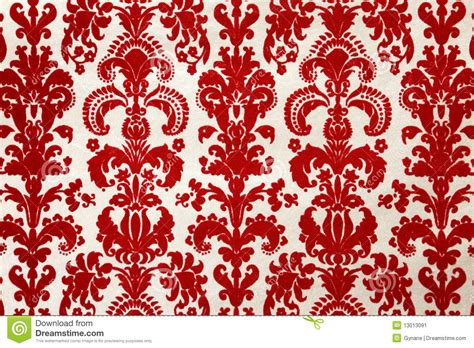 Tapete Rot Muster by Flock Wallpaper Pattern Stock Image Image Of Paper