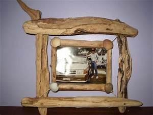 Cadre En Bois Flotté : tableau double cadre bois flotte support photo 18x13 realisations d 39 objets bois flotte ~ Teatrodelosmanantiales.com Idées de Décoration