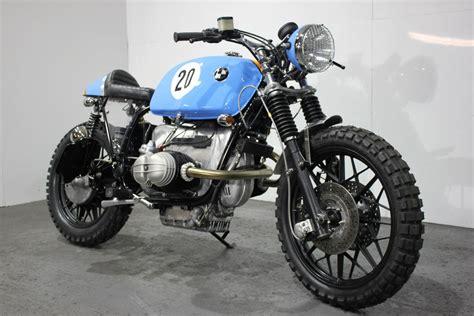 bmw motorcycle scrambler racing cafè bmw r100 rs street scrambler quot le man quot by