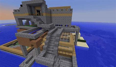 biggest survival island build  minecraft map