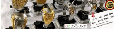 grosir ikat cincin ring titanium dengan aneka motif jual cincin titanium