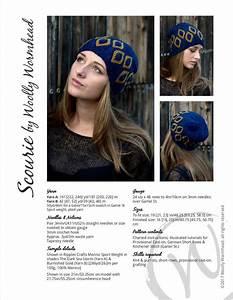Scourie Slouchy Beanie Hat Pdf Knitting Pattern