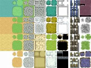 Guide to simple tileset edits rearranging clumping and for Floor game maker
