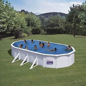 Piscine Hors Sol : piscine hors sol acier san clara l 7 3 x l x h 1 2 m ~ Melissatoandfro.com Idées de Décoration