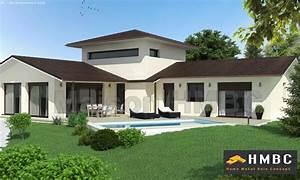 Maison En L Moderne : maison moderne 1 etage ~ Melissatoandfro.com Idées de Décoration