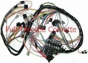1967 67 Corvette Dash Wiring Harness  New