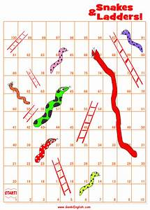 first lessons genki english With make your own snakes and ladders template