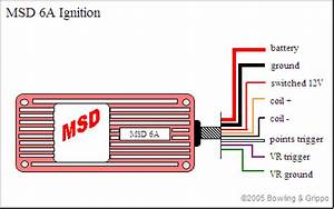 Msd 6al Wiring Diagram Hei Distributor