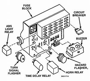 30 1994 Dodge Dakota Fuse Box Diagram