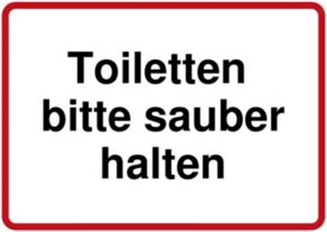 toilette sauber halten toilettenschilder selbst gestalten und drucken