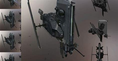 caldari security drone pavel savchuk  artstation  httpwwwartstationcomartworkcaldari