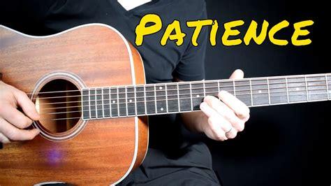 testo patience guns n roses guns n roses patience cover