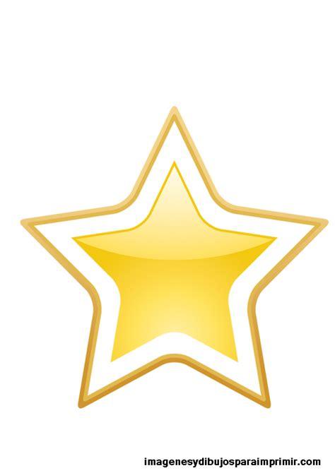 estrellas doradas grandes  imprimir imagenes  dibujos