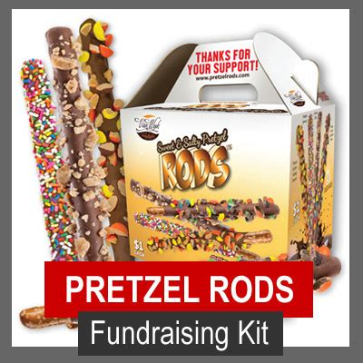 Pretzel Rod Snacks for Fundraising – Fundraiser Alley