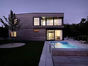 Maison en bois avec piscine for Maison bois avec piscine