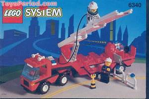 Lego 6340 Hook And Ladder Set Parts Inventory And
