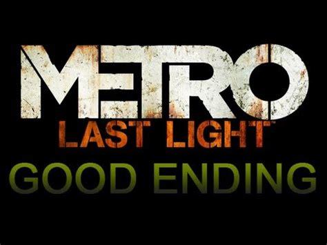 Metro Last Light Ending by Metro Last Light Ending Save D6 No Commentary