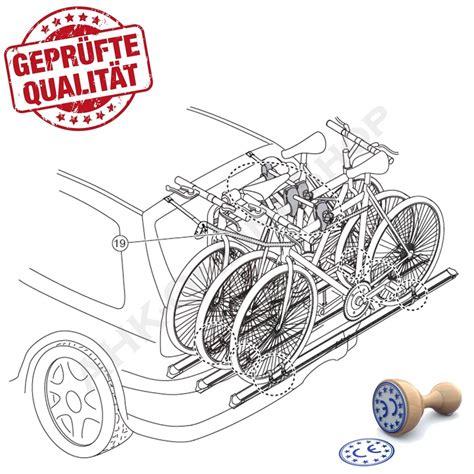 fahrradträger für heckklappe logic 3 menabo fahrradtr 228 ger heckklappe f 252 r 3 fahrr 228 der hecktr 228 ger t 220 v gs ebay