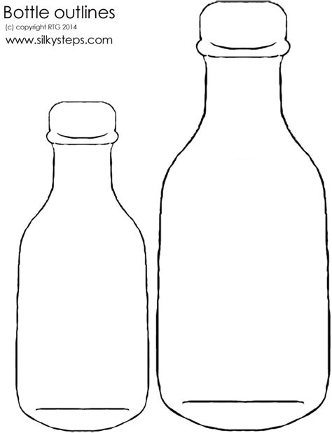 bottle template free message in a bottle outline free clip free clip on clipart library