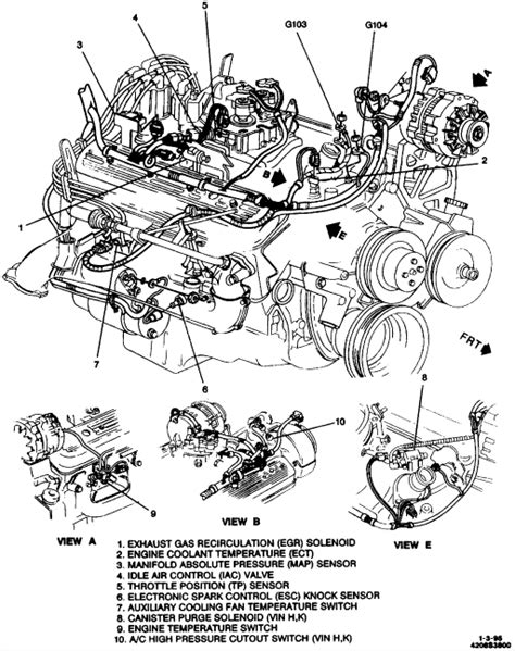 1996 Chevy Tahoe Vacuum Diagram by I A 1994 Chevy 2 Door Tahoe With A 5 Speed Manual