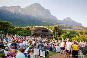 botanical gardens concerts kirstenbosch summer sunset concerts 2017 info