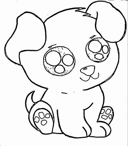 Coloring Puppy Pages Puppies Printable Sheets Dog