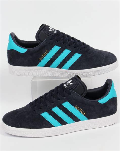 Adidas Gazelle Trainers Legend Ink/Energy Blue,originals ...