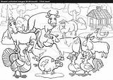 Coloring Stream Farm Animals Awesome Pages Animal Inside Cartoon Vector Getdrawings Excellent Getcolorings Printable sketch template