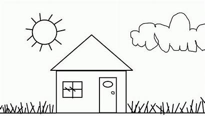 Coloring Pages Printable Easy Simple Cartoon Printables