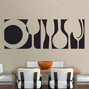 wall decal kitchen decals for walls ideas you can apply With kitchen colors with white cabinets with family wall art stickers