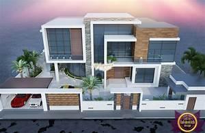 Modern, Luxury, Villa, Exterior, Design