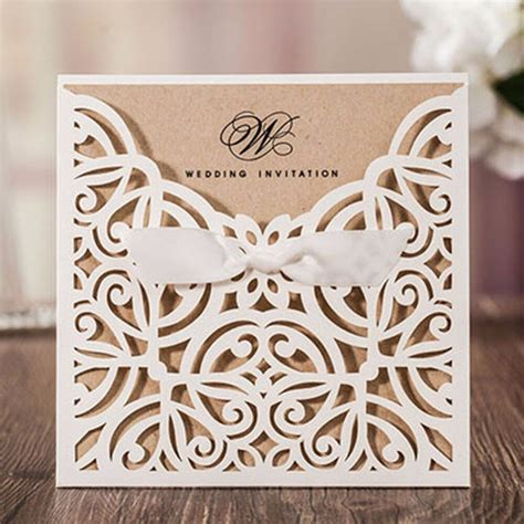 100pcs country style 2018 new party Pocket wedding