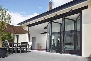Baie Vitrée Double Vitrage : salle manger baie vitr e coulissante coulissante empilable en aluminium double ~ Voncanada.com Idées de Décoration