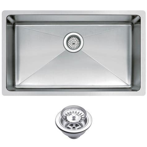 kitchen sink stainless undermount water creation undermount small radius stainless steel 30 5961