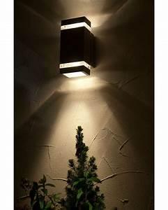 Elstead lighting focus led 76w outdoor twin wall light in for Focus diy outdoor lighting